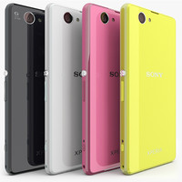 Sony Xperia Z1 Compact All Colors