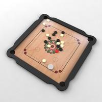 3ds max carrom board