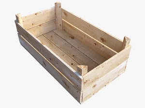 realistic wooden crate max