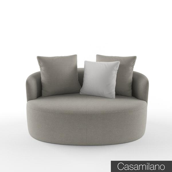 max casamilano francesca armchair
