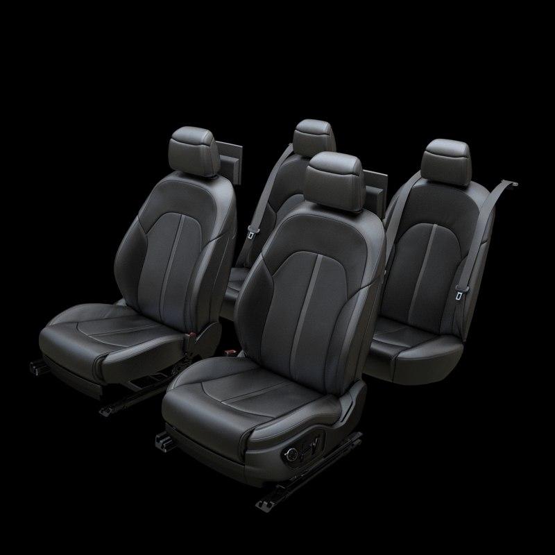 3d car seat