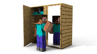 Minecraft cupboard