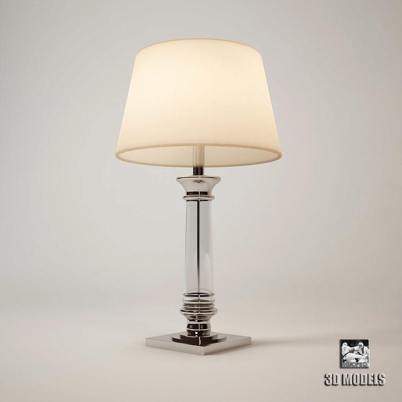 3d eichholtz lamp table dylan