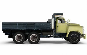 3d model old truck