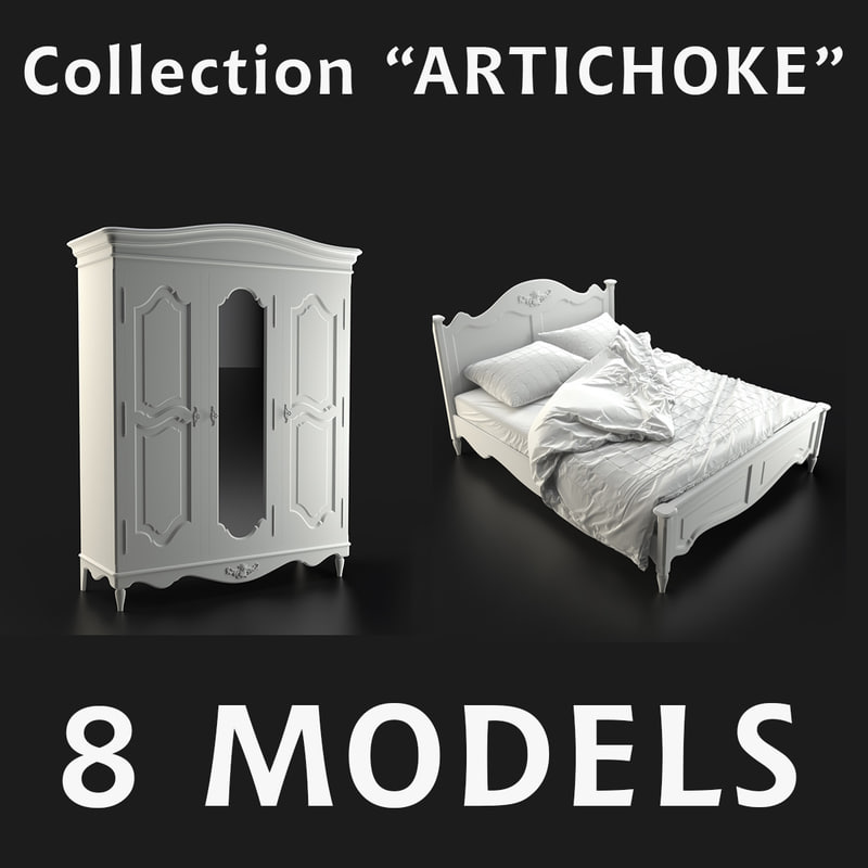 furniture artichoke 3d max