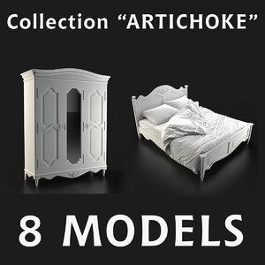 furniture artichoke 3d max