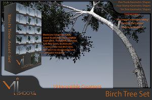 birch tree 3ds