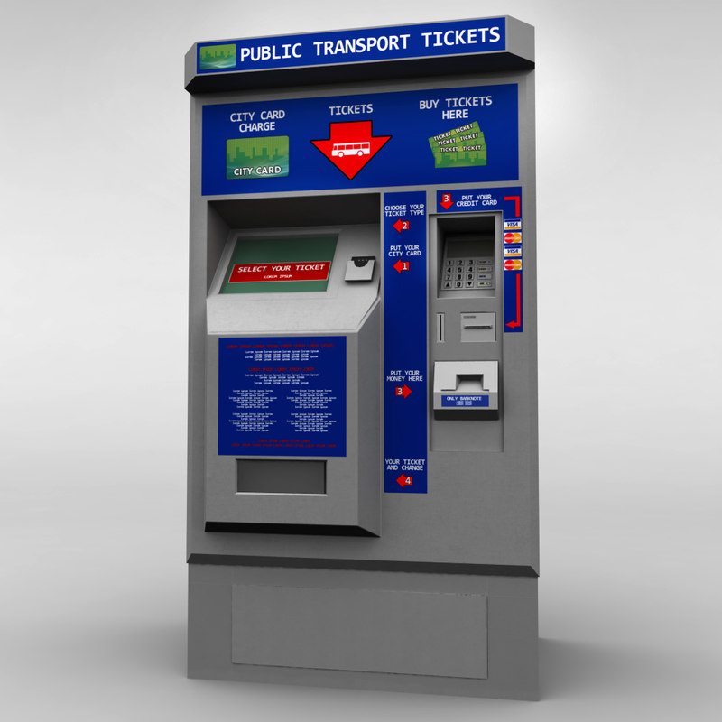 bus ticket machine 3ds