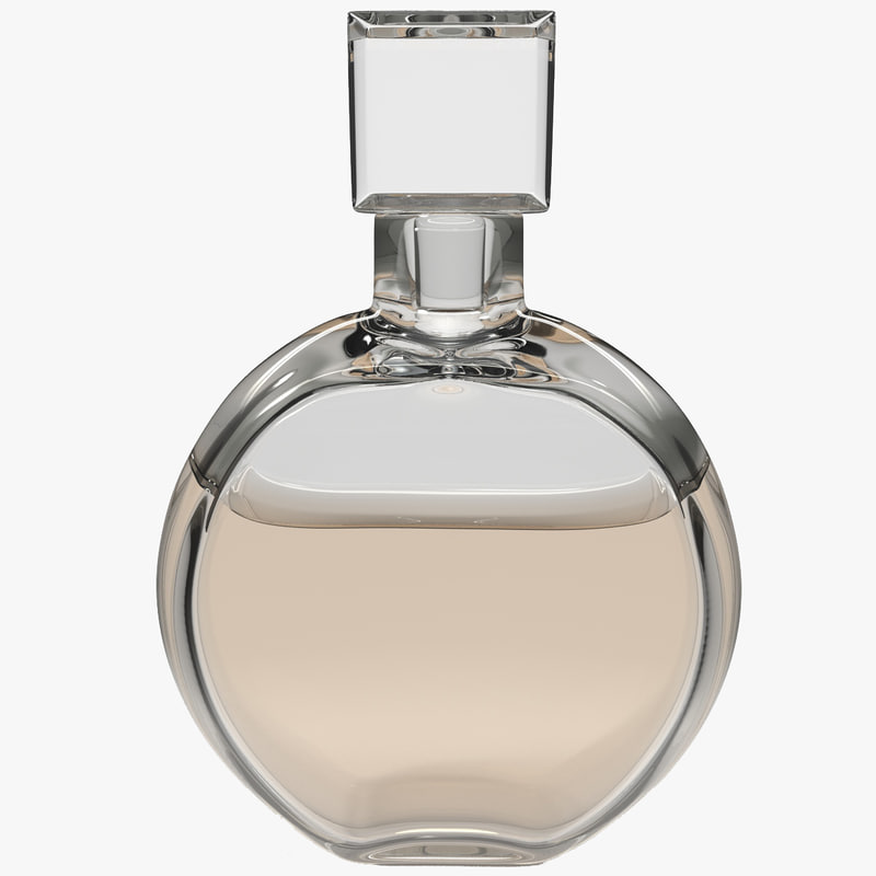 3d cologne bottle 2 model
