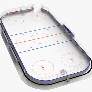 max ice hockey rink