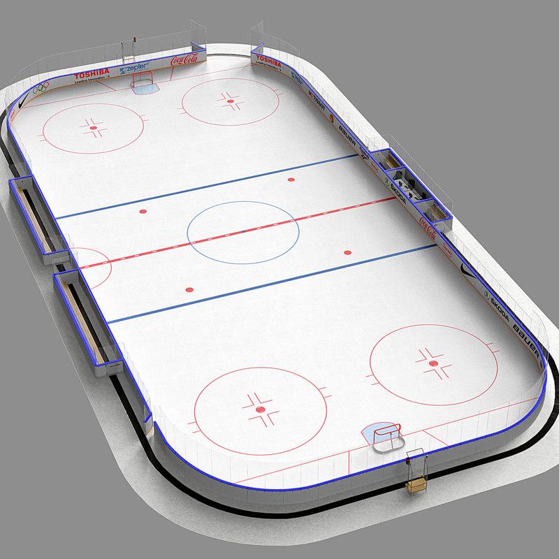 max ice hockey rink