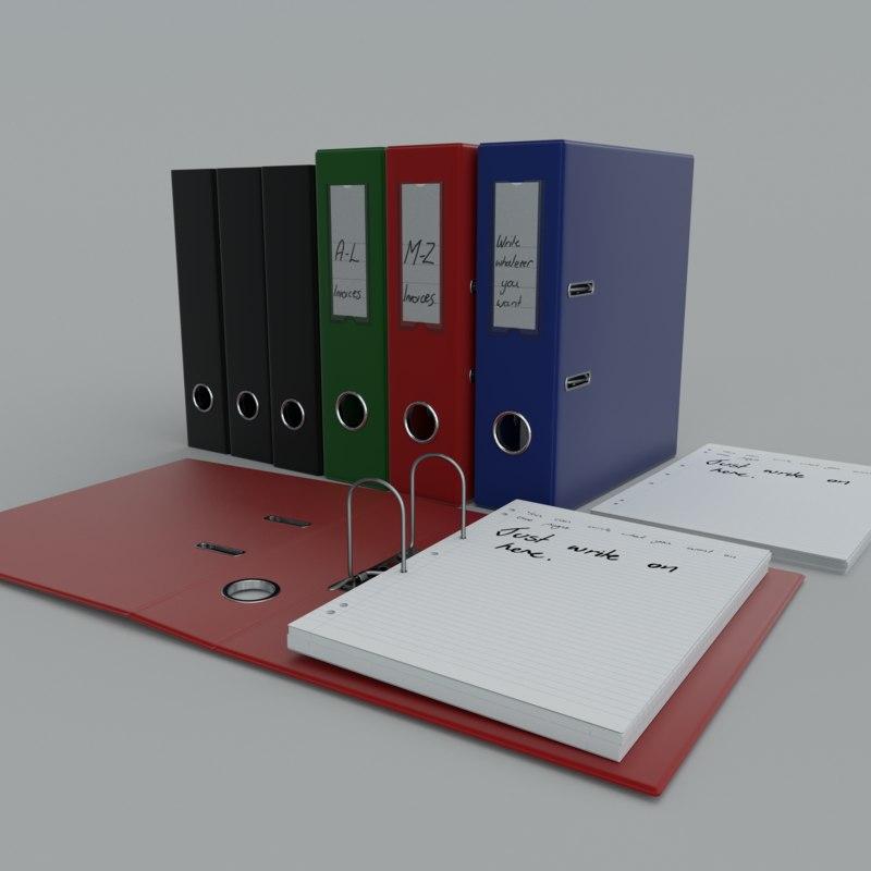 Maya Folders Paper A4 Binder