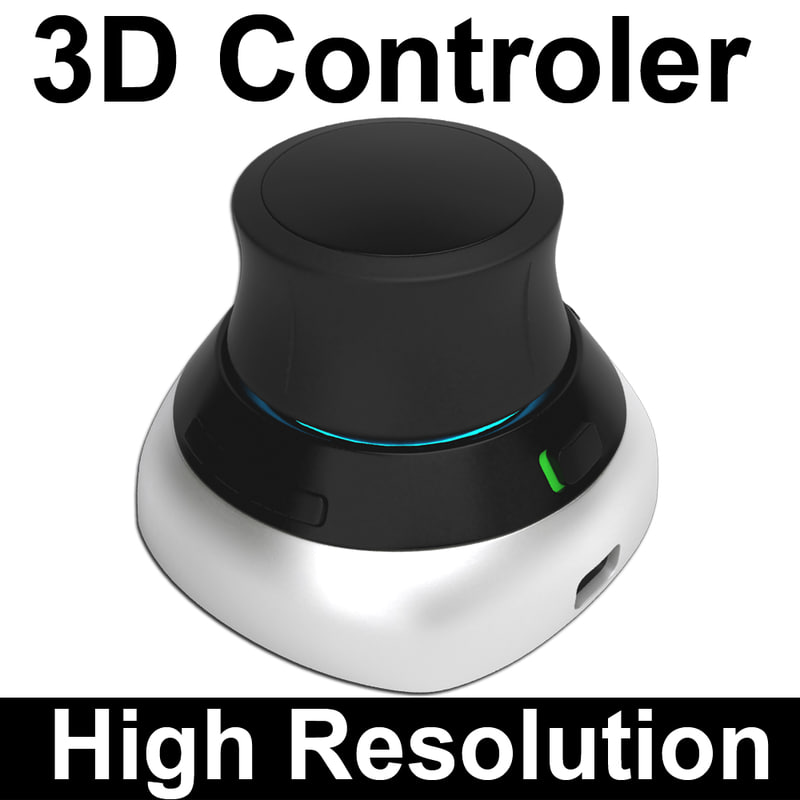 polygonal mouse controler 3d max