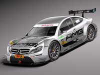 Mercedes C AMG DTM 2012 - 2014