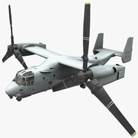 Military Tiltrotor Aircraft MV-22 Osprey 2