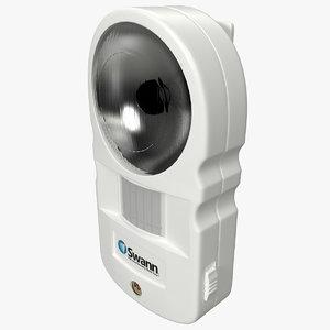3d motion light alarm swann model