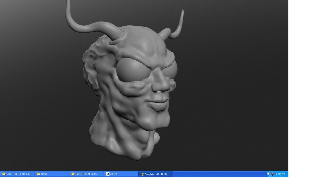 bug dude 3d model