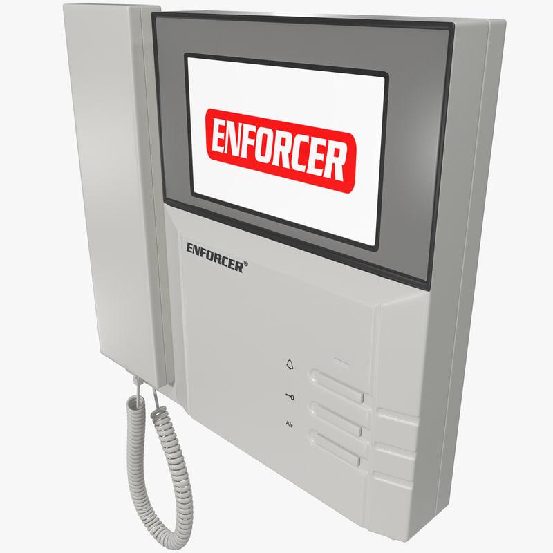 3d video door phone seco model