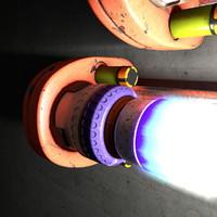 x lamp neon light