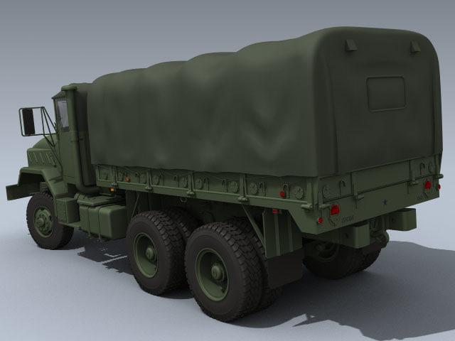 army m925 3d obj