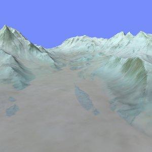 3d terrain alm-10 model