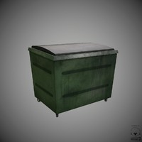 3d waste container