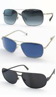 3dsmax sun glasses