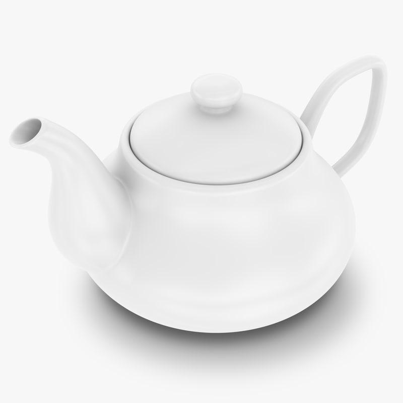teapot subdivided max