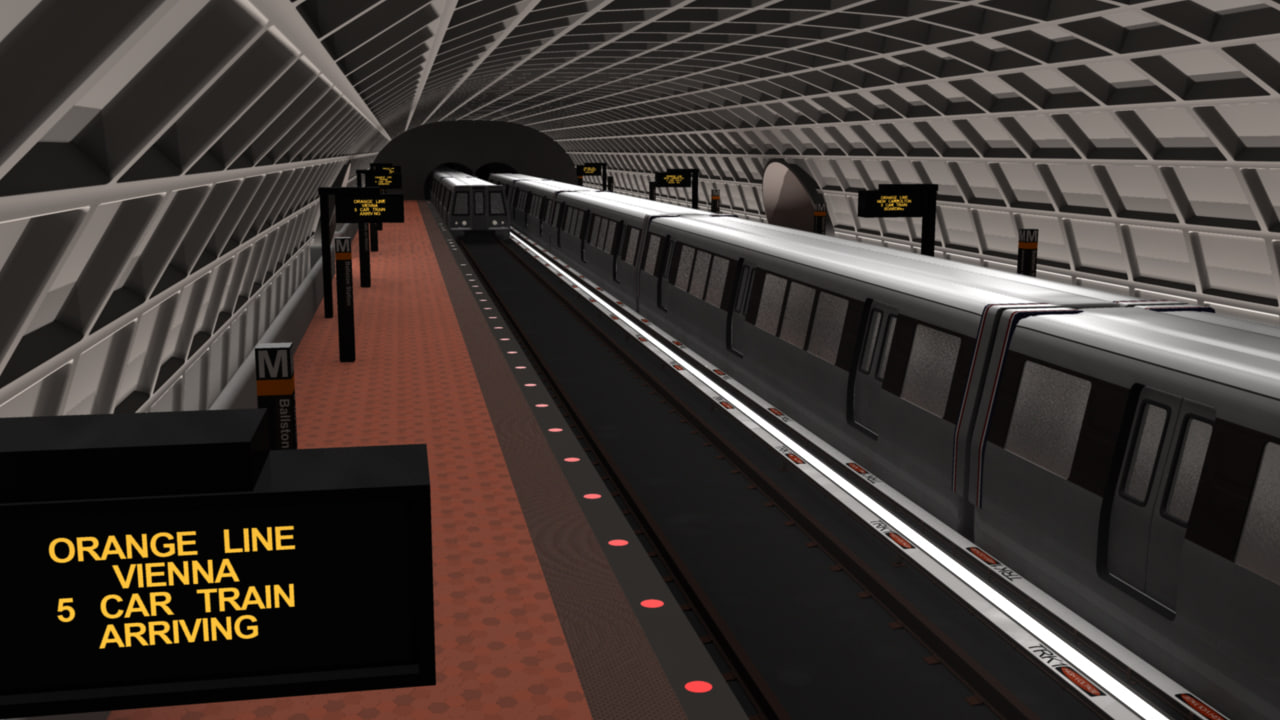washington d c metro 3d obj