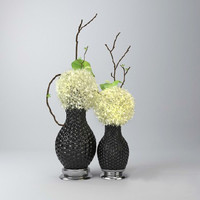 3d decorative vase