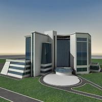 Modern Building 041