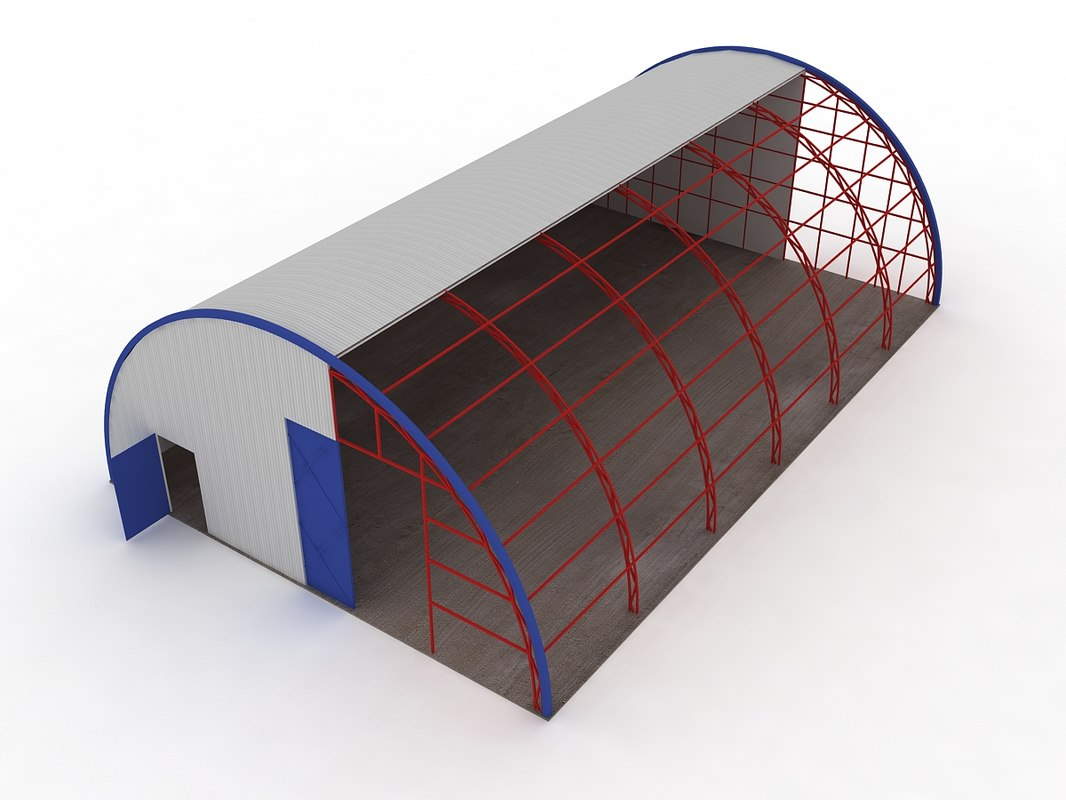 3d hangar cut