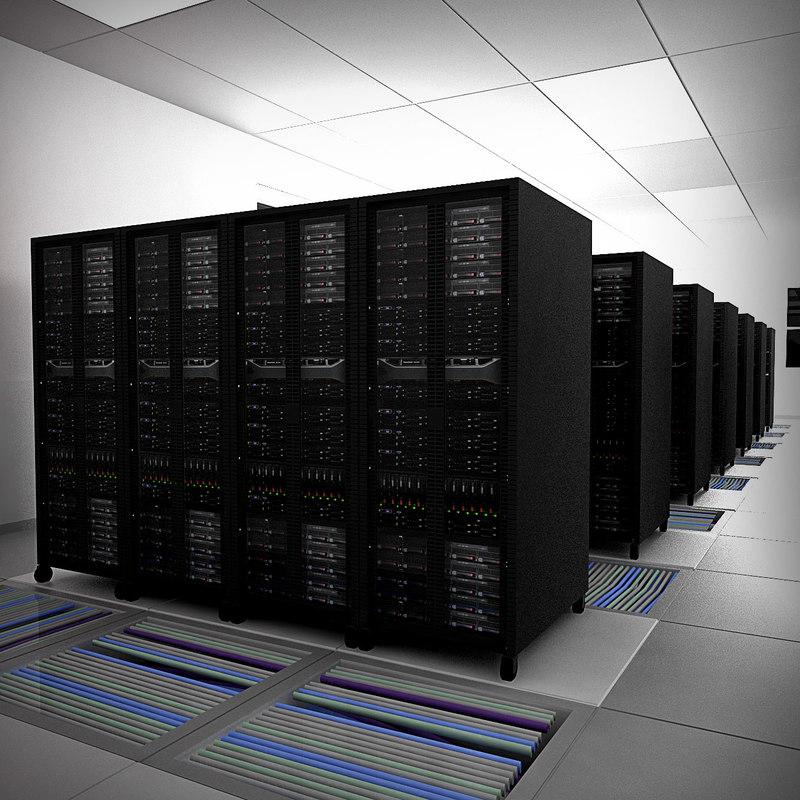 3d room communication server model