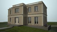 3d house classic model