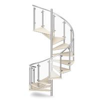 Wooden Spiral Stairs 4