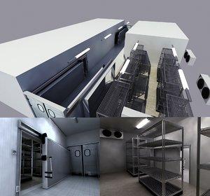 3d model cold storage