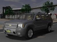 chevrolet tahoe z71 gmt900 3d 3ds