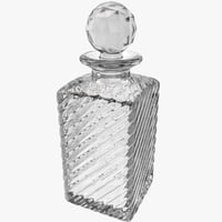 crystal decanter 3ds
