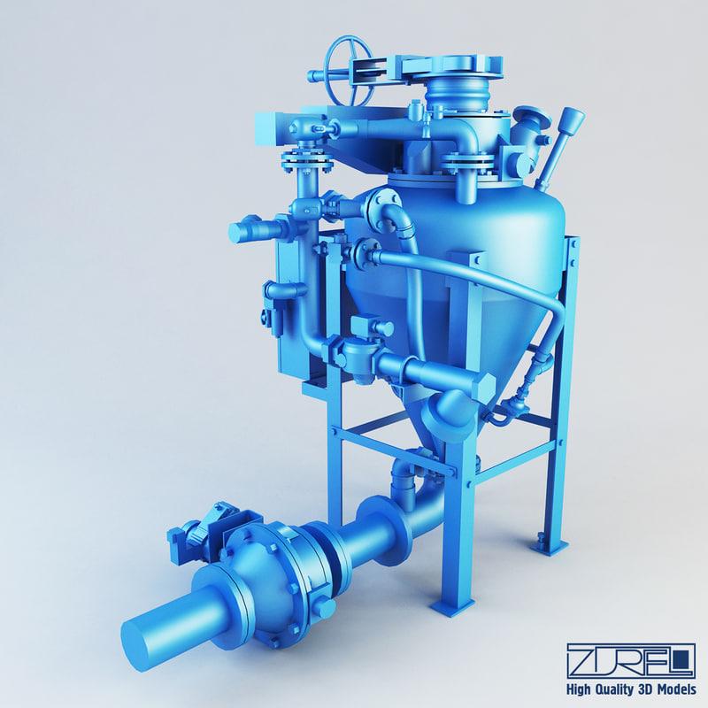 3d densphase ga pump model