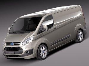 3d transit 2013 van model