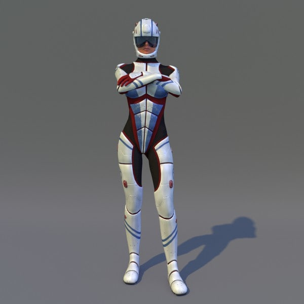 3d model rigged t