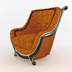 3d mantellassi - luxury vintage model