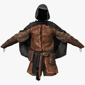 3ds max medieval clothes 2