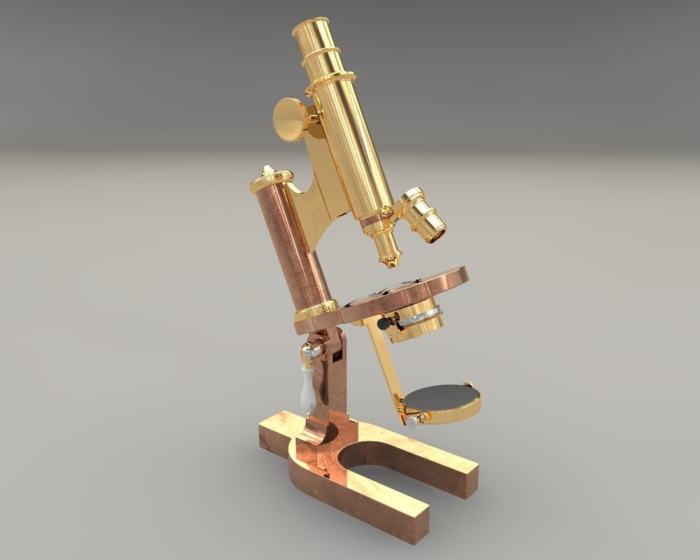 continental microscope 3d model