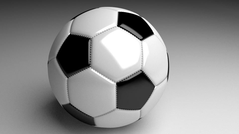 football ball 3d 3ds