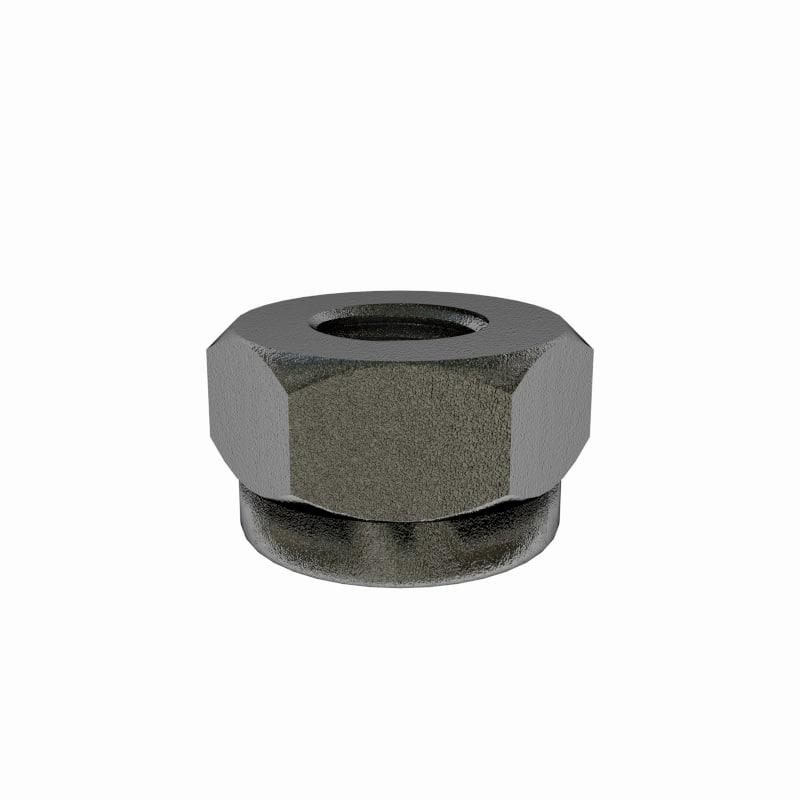 3ds max nut screw
