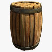 wooden barrel max free