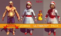 maya pack zombie