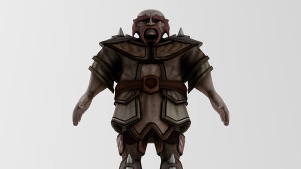 dwarf fighter 3d x