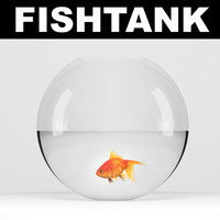 goldfish fish 3d max